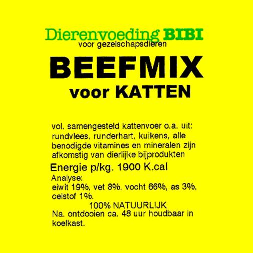 BIBI Beefmix voor katten