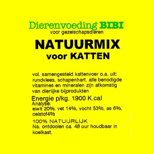 BIBI Natuurmix voor katten