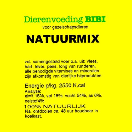BIBI Natuurmix